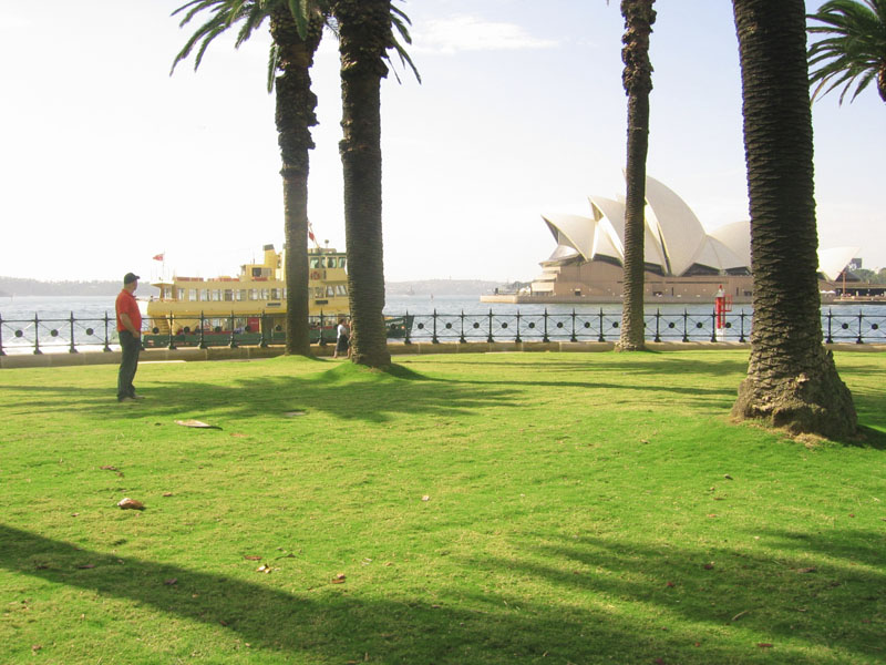 Dawes Point after KISSS installation
